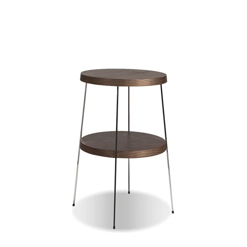 GARBO SIDE TABLE WALNUT SMALL