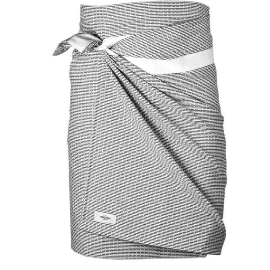 Towel to Wrap Around You Morning Grey