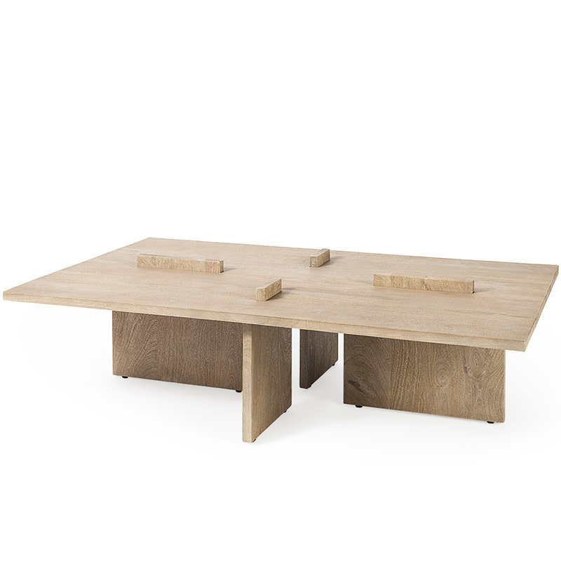 ARRIVAL COFFEE TABLE WOOD NATURAL