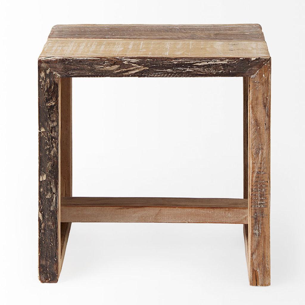 WOODSMAN SIDE TABLE NATURAL