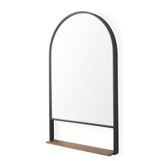 DEPARTURE ARCHED MIRROR WITH SHELF