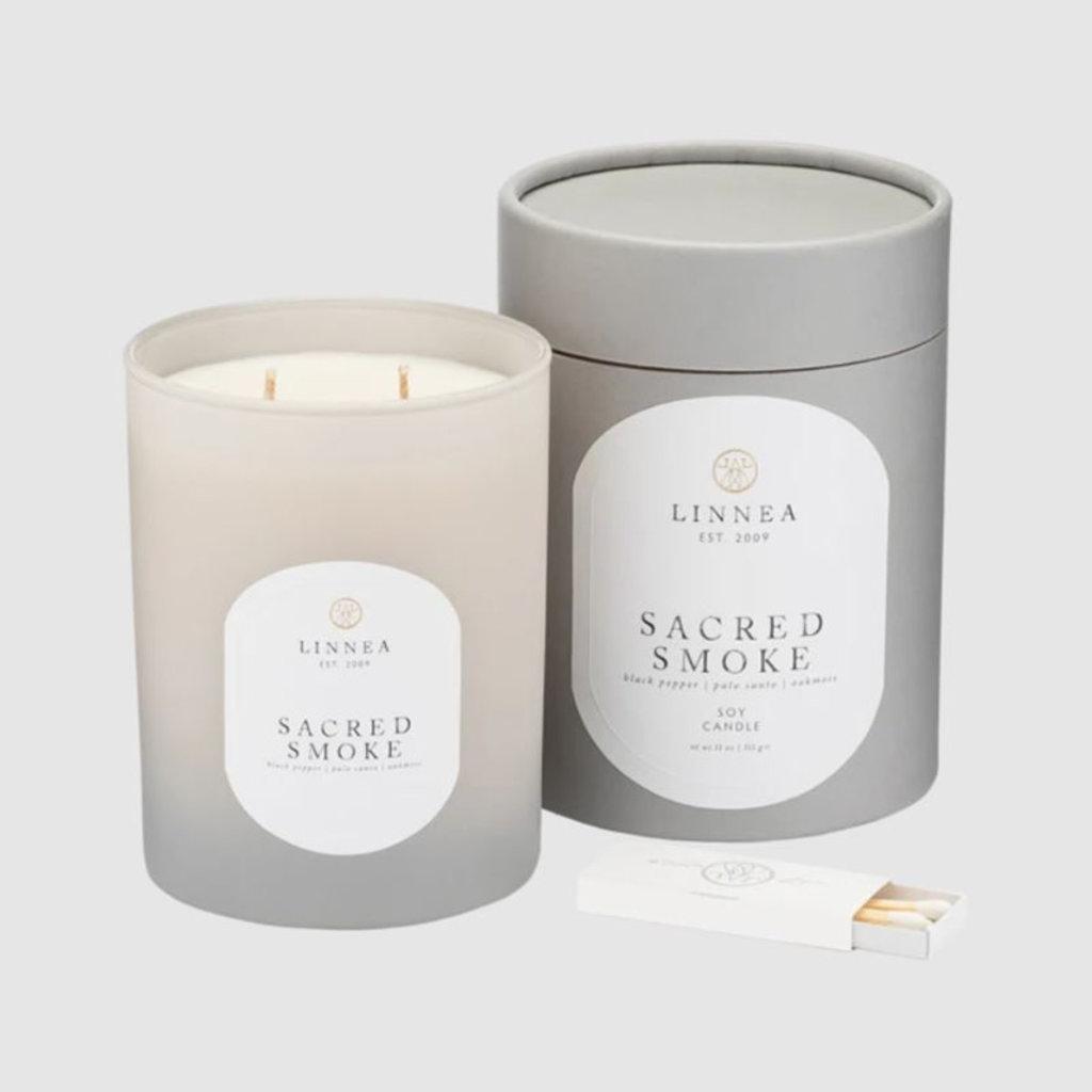 SACRED SMOKE - LINNEA Two Wick Candle