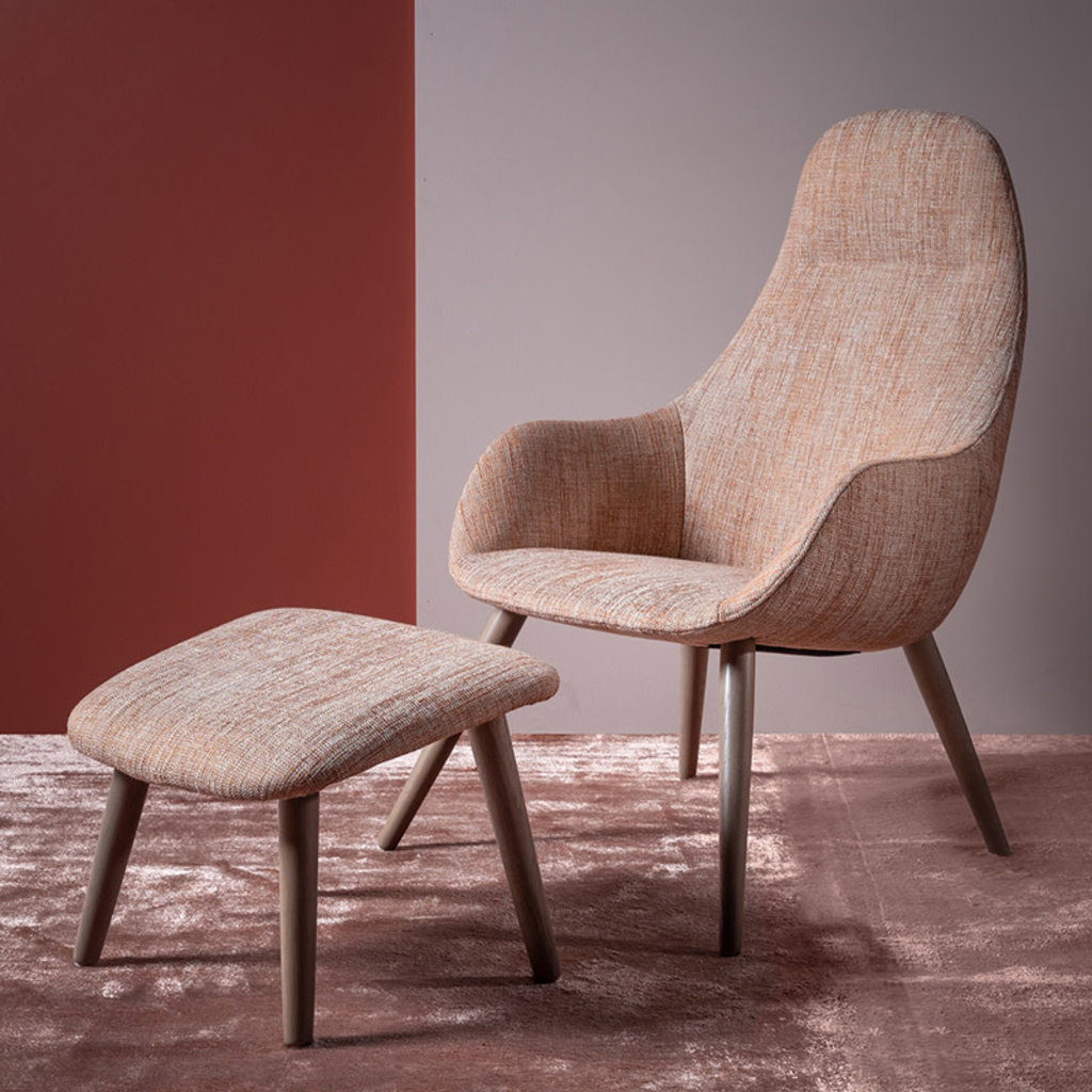 OLINE CHAIR AND FOOTSTOOL