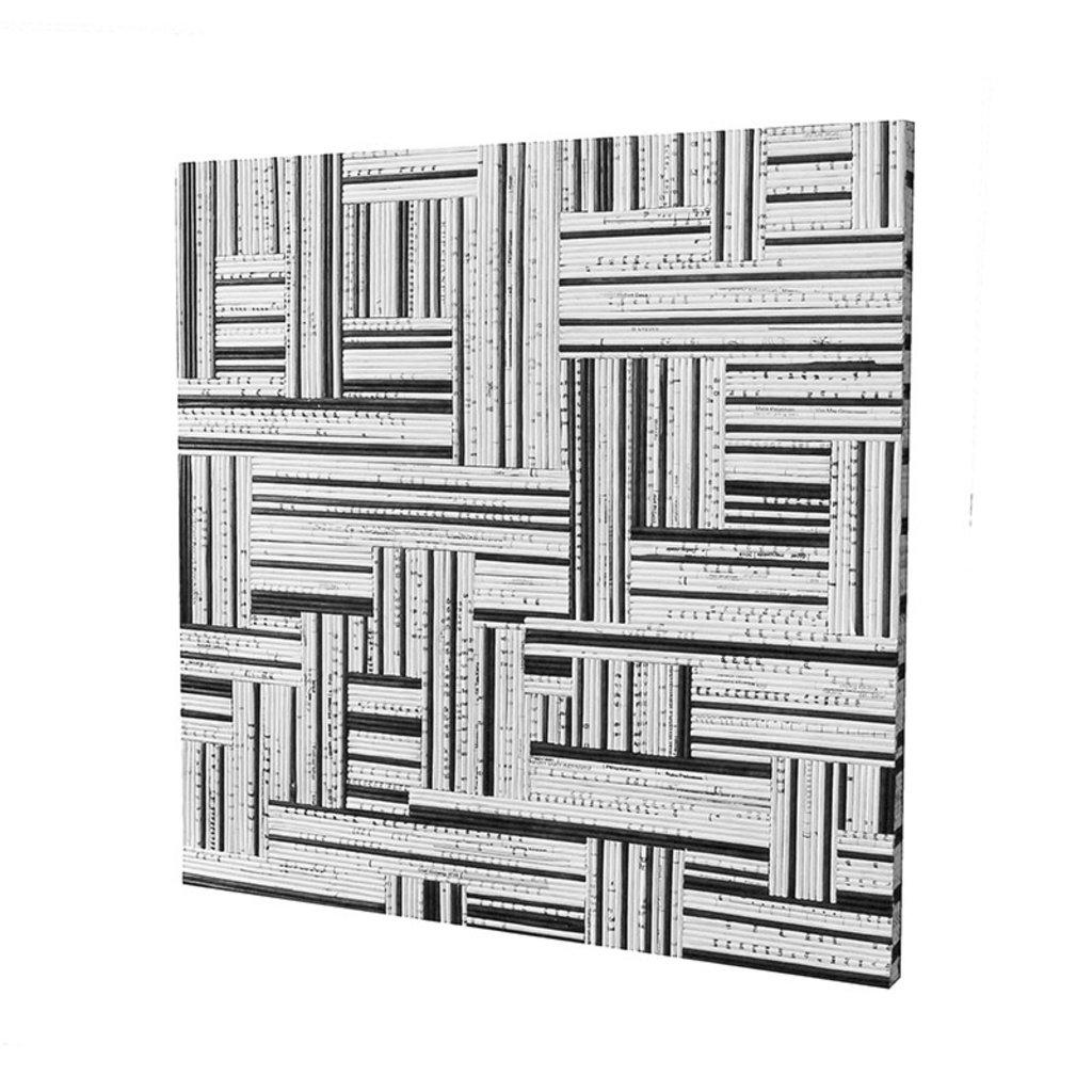 SYNTAX WALL DECOR BLACK AND WHITE