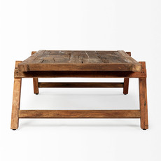 RUSTIC COT COFFEE TABLE