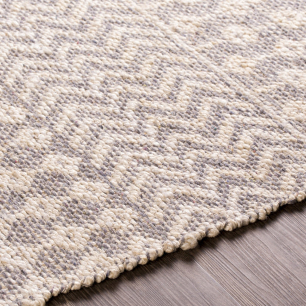 BRYANT 8' X 10' JUTE COTTON NATURAL AND GREY