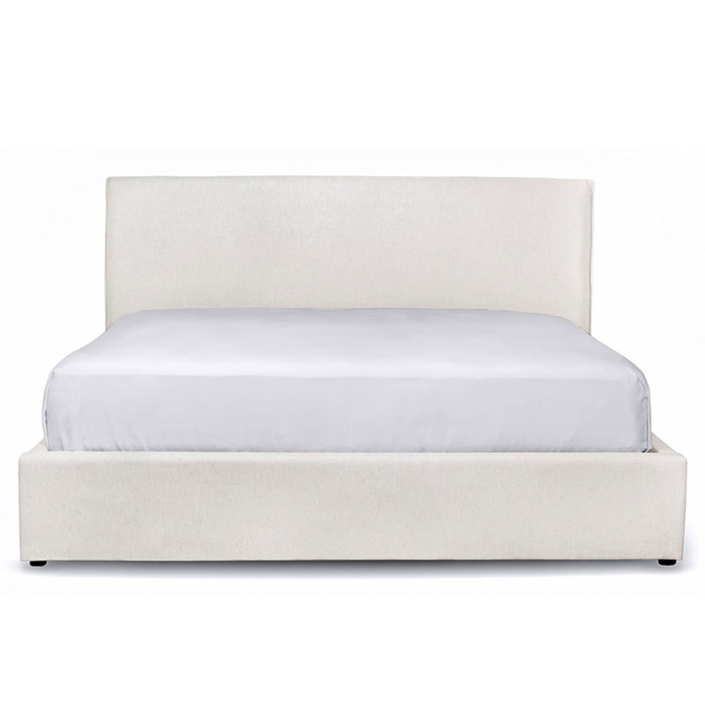 ARIES BED WHITE SAND STORAGE OPTIONAL