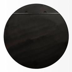 ATHENA MIRROR ROUND METAL BLACK SMALL
