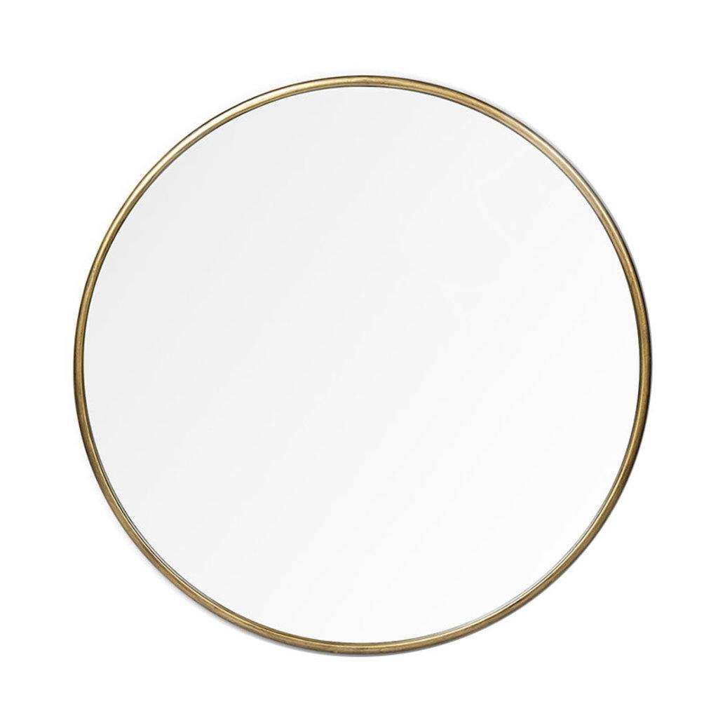ATHENA MIRROR ROUND METAL GOLD SMALL
