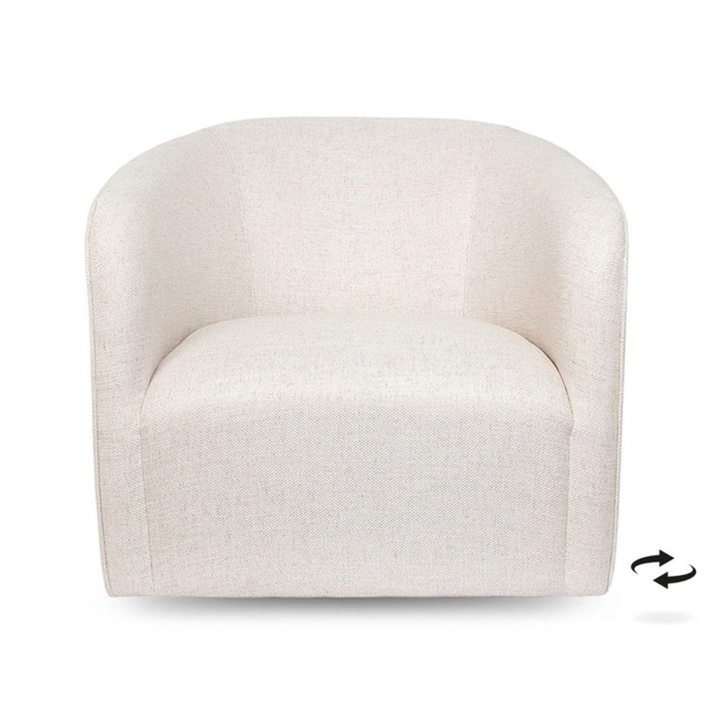 QUEST SWIVEL CHAIR WHITE SAND
