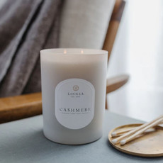 CASHMERE - LINNEA Two Wick Candle
