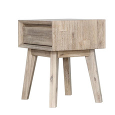 ISAAC 1 DRAWER SIDE TABLE