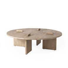ARRIVAL COFFEE TABLE ROUND WOOD NATURAL