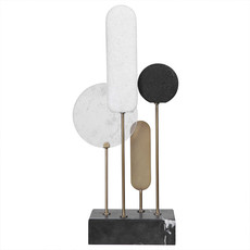 SIGNAL SCULPTURE MARBLE AND STONE