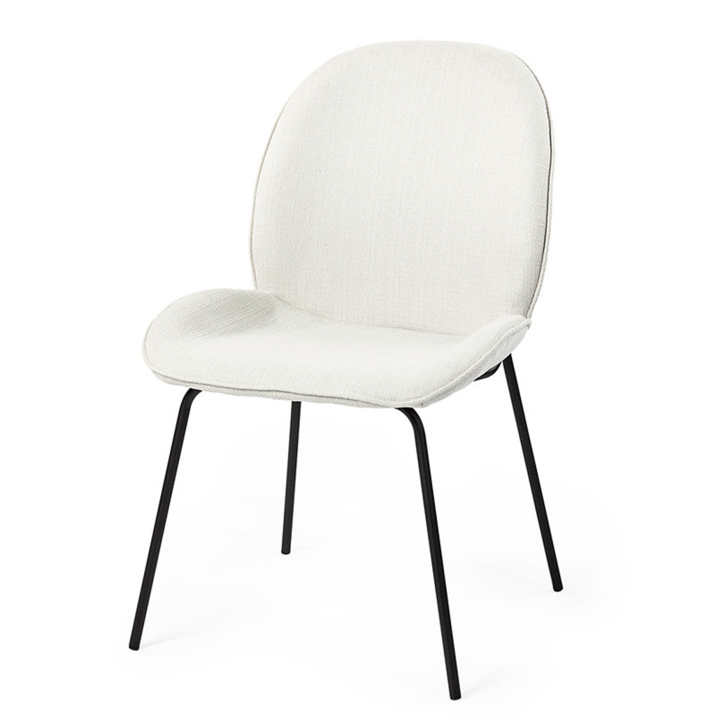 ELSA DINING CHAIR OFF WHITE