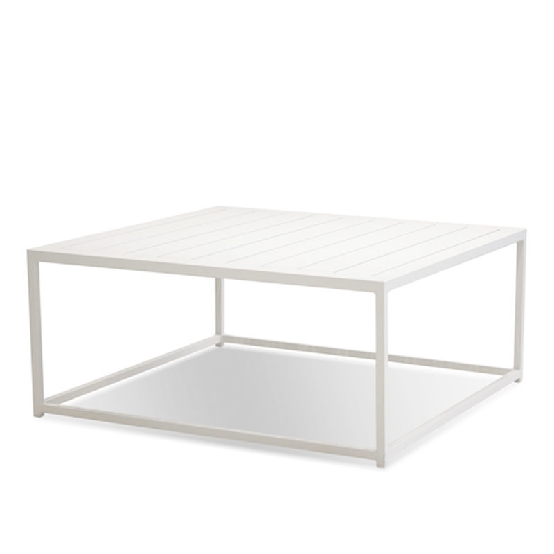 PLATFORM COFFEE TABLE WHITE [OUTDOOR SAFE]