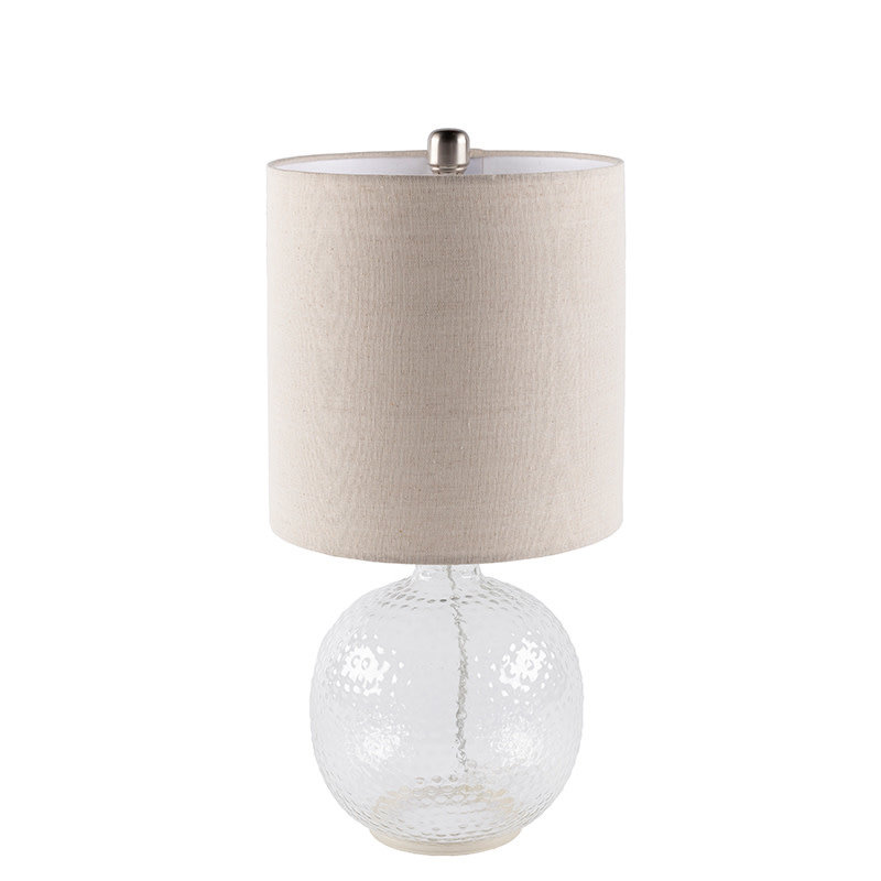 BUOYEE TABLE LAMP GLASS CLEAR