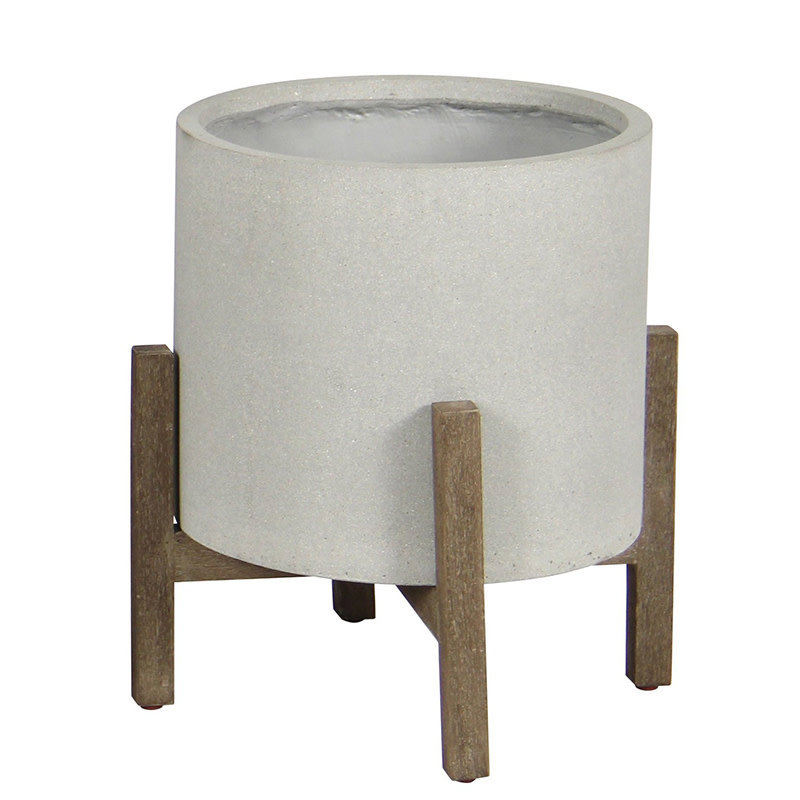 NYLE STANDING POT LARGE GREY