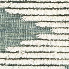 APACHE WOOL RUG 8' X 10' GREEN AND WHITE