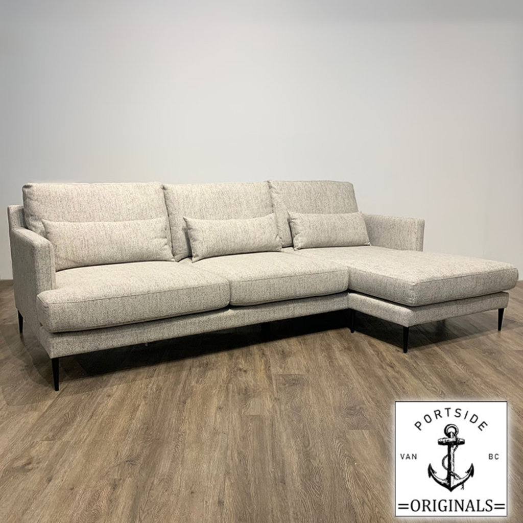 HAVEN SECTIONAL REVERSIBLE GREIGE