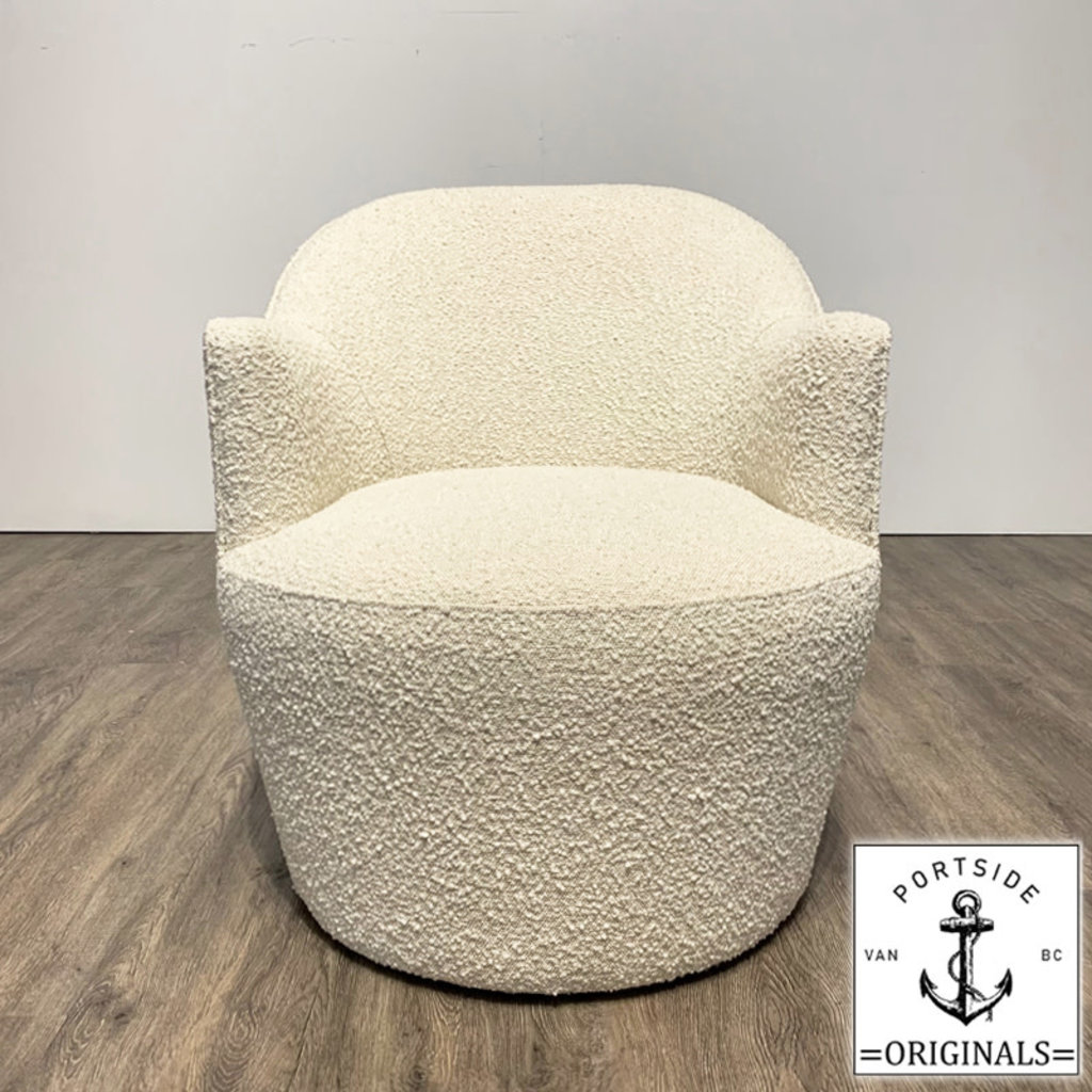 OLIVIA CHAIR BOUCLE OFF WHITE