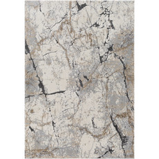 """TUSK MARBLED 6'7""""X9'6"""" GREY RUST TAUPE"""