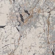 """TUSK MARBLED 7'10""""X10'3"""" GREY RUST TAUPE"""