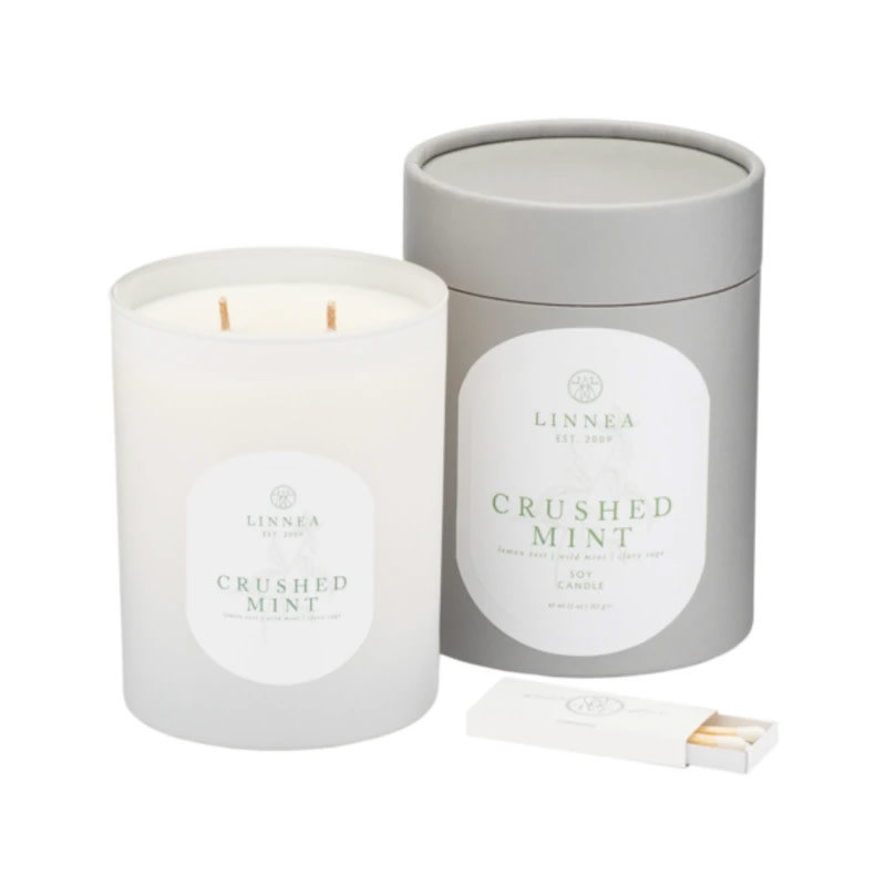CRUSHED MINT - LINNEA Two Wick Candle