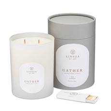 GATHER - LINNEA Two Wick Candle