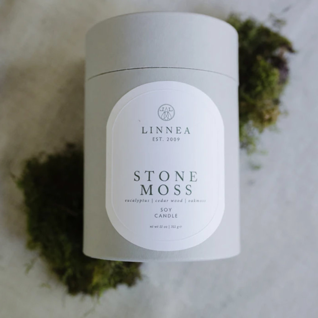 STONE MOSS - LINNEA Two Wick Candle