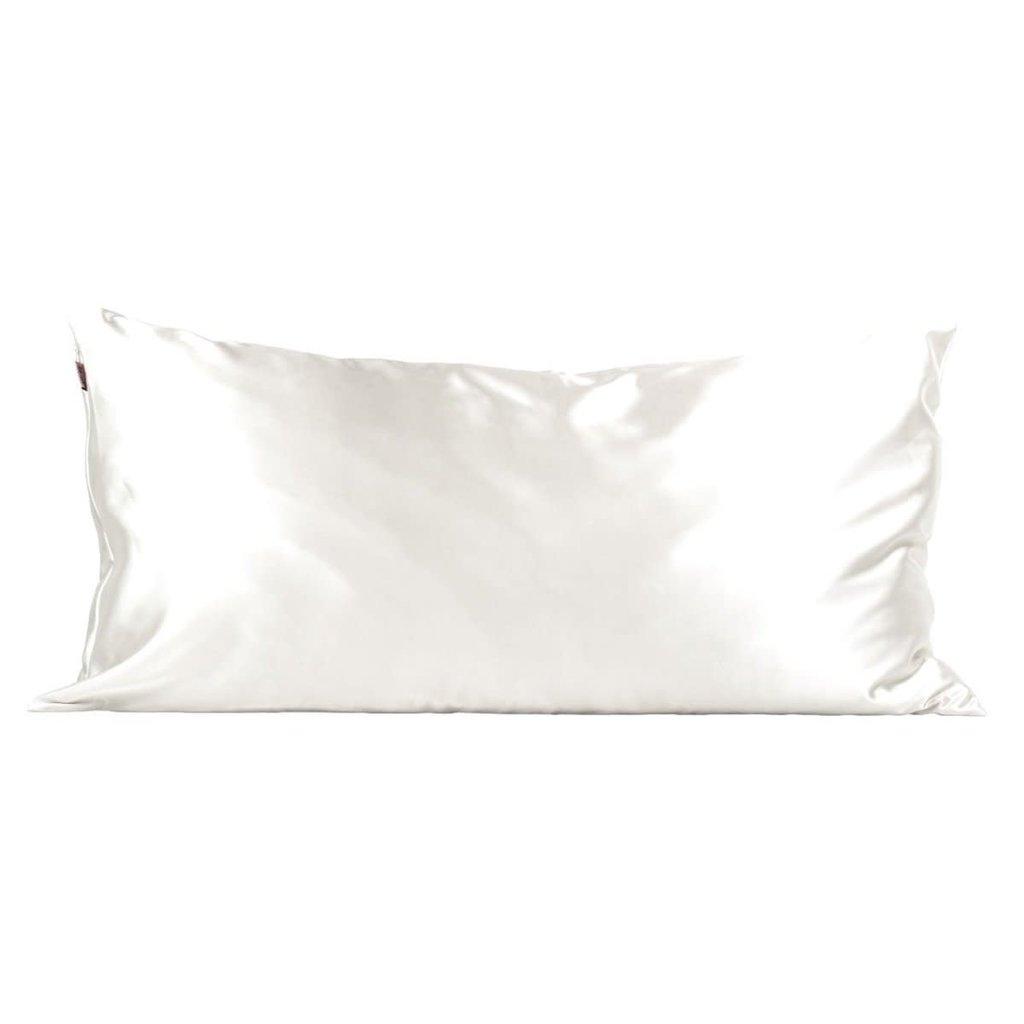 Satin Pillowcase King - Ivory