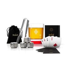 Poker King of Diamonds Whiskey Gift Set