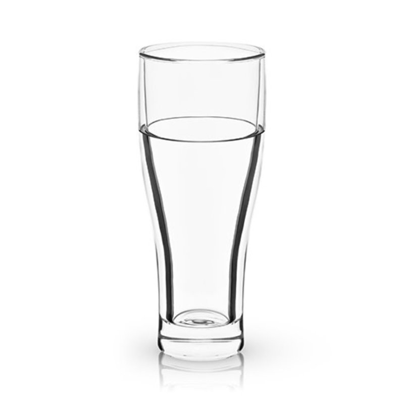 Viski Raye:  Double Walled Chilling Beer Glass