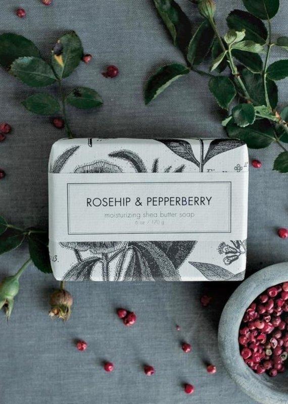 Rosehip & Pepperberry Seasonal Holiday Shea Butter Soap Bar