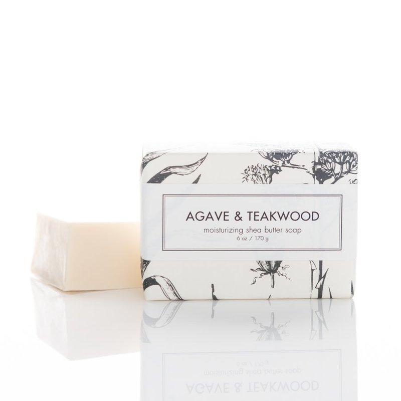 AGAVE & TEAKWOOD BATH BAR