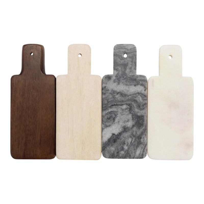 Made Market Co Marble & Wood Mini Board Set