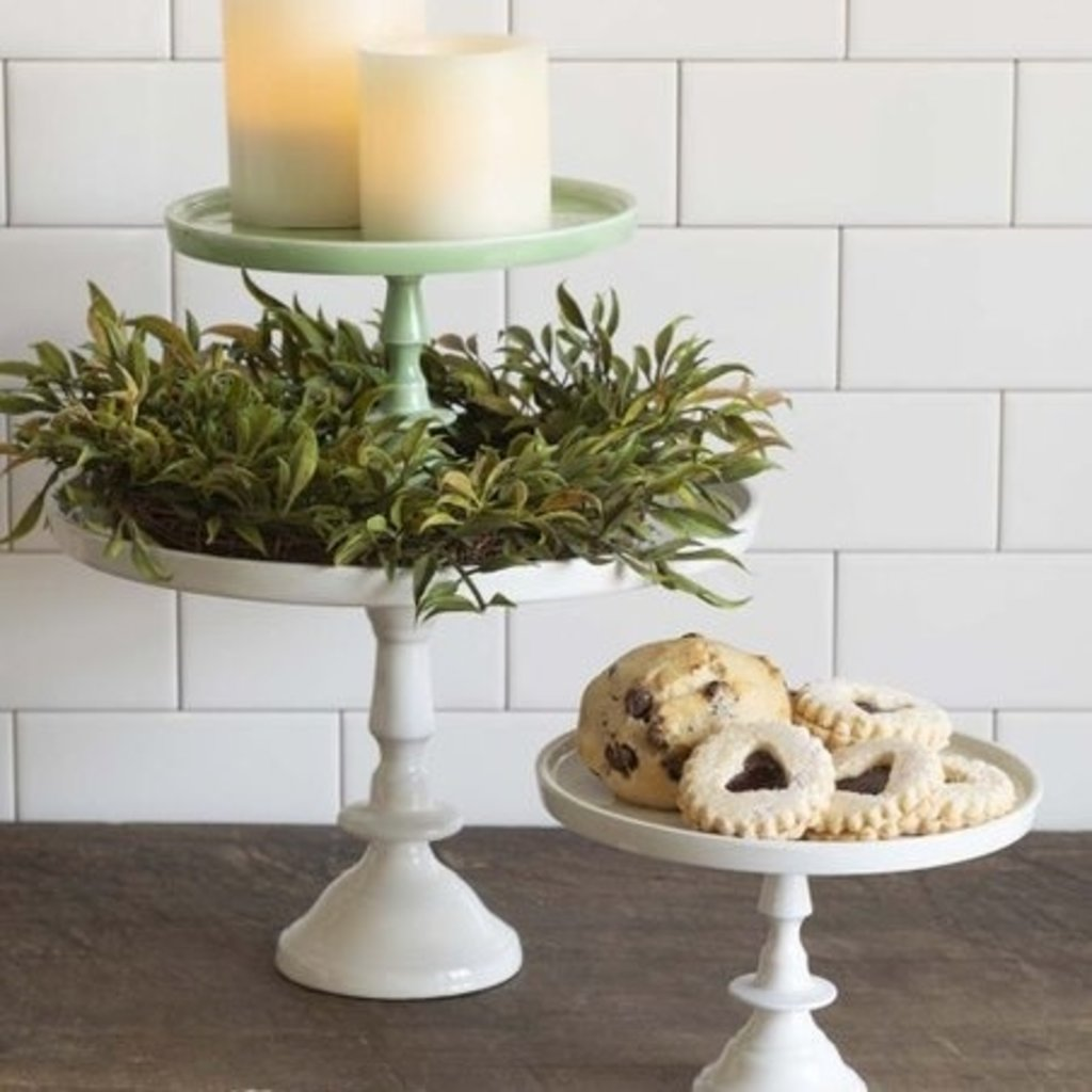 Made Market Co Pedestal Ivory Small