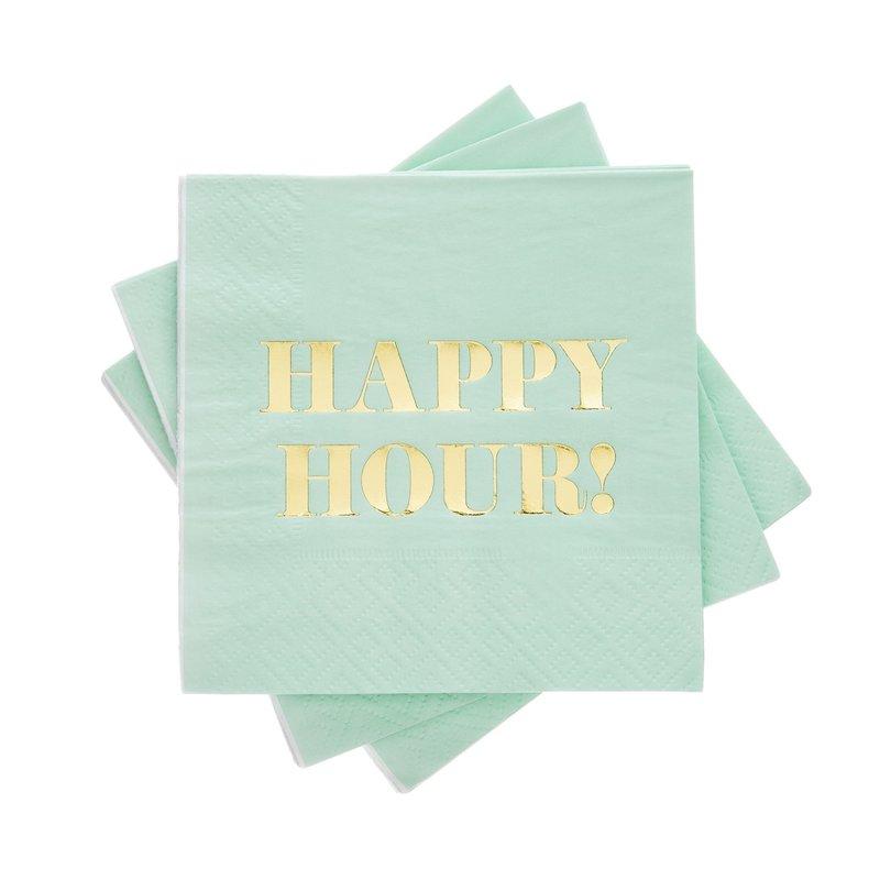 Cakewalk Happy Hour Cocktail Napkin