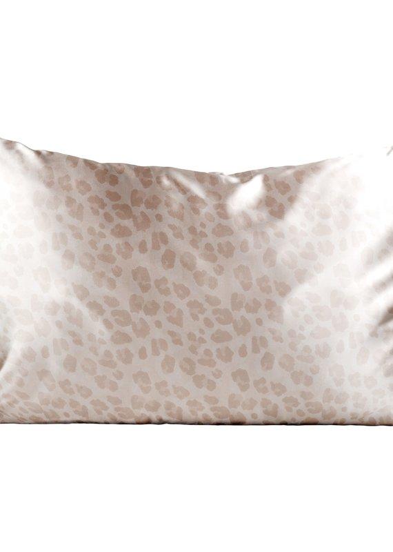 Satin Pillowcase King - Leopard