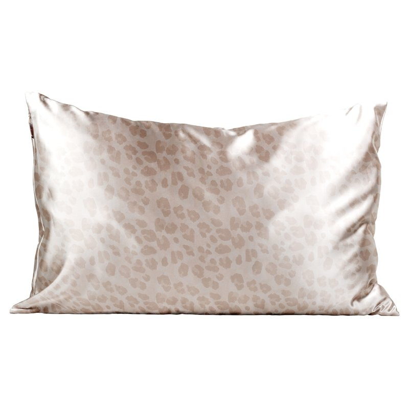 Satin Pillowcase King - Leopard