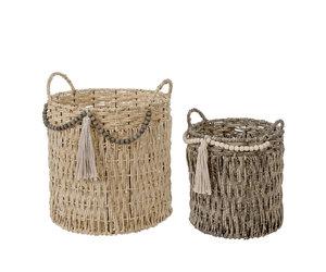 Indaba Bohemia Baskets S/2