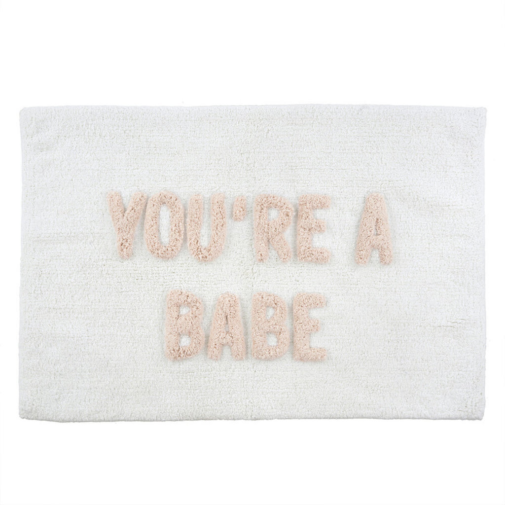 Indaba You're a Babe Bath Mat