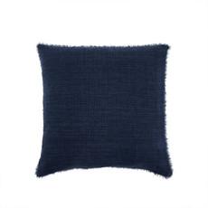 Indaba Lina Linen Pillow, Cobalt