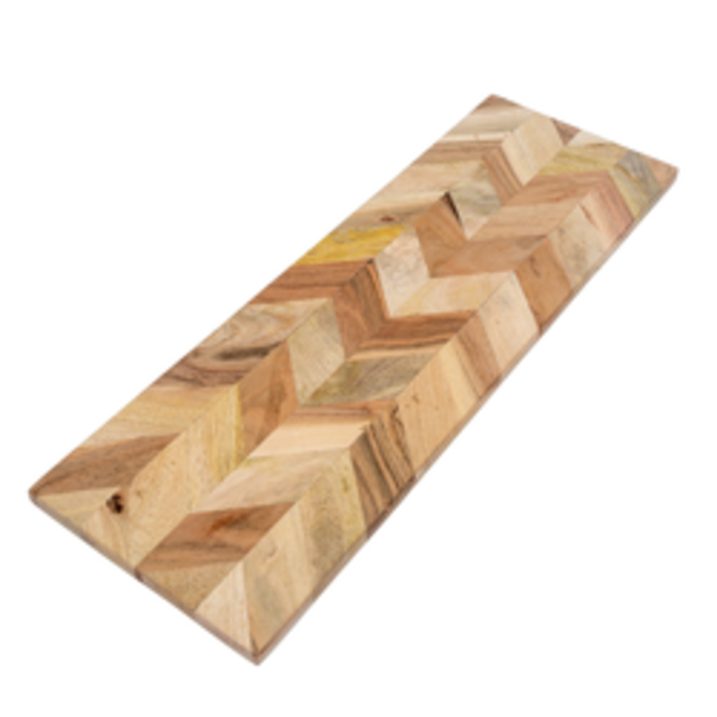 Indaba Herringbone Cheese Board - Large