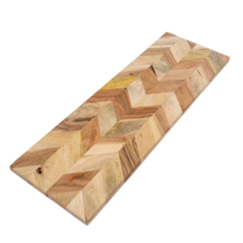 Indaba Herringbone Cheese Board - Small
