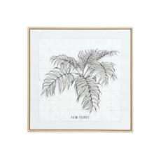 The Pine Centre Multi Frond Sketch Artwork