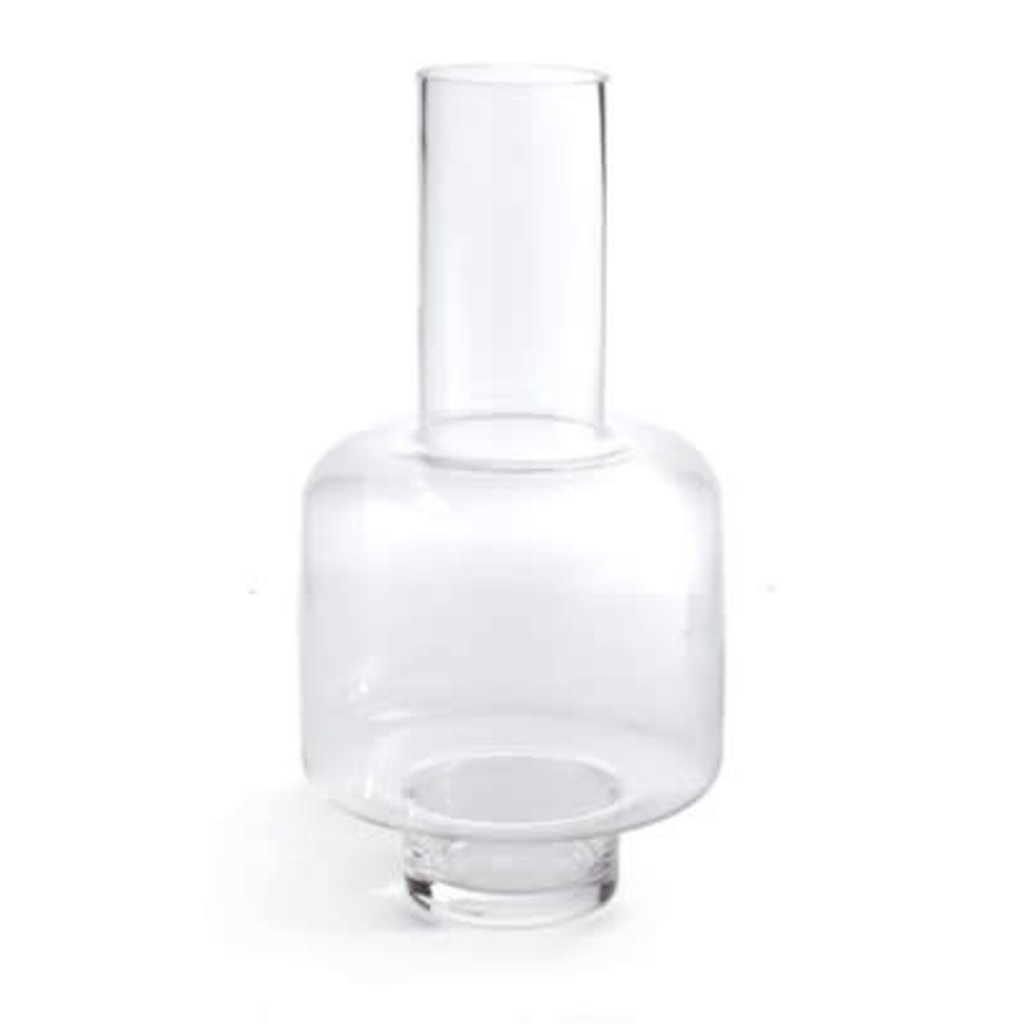 The Pine Centre Mersin - Glass Vase - Clear
