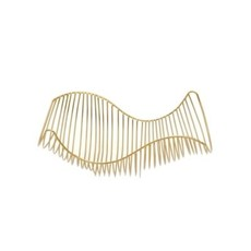 The Pine Centre MARCEL CURVED WIRE BOWL BRASS