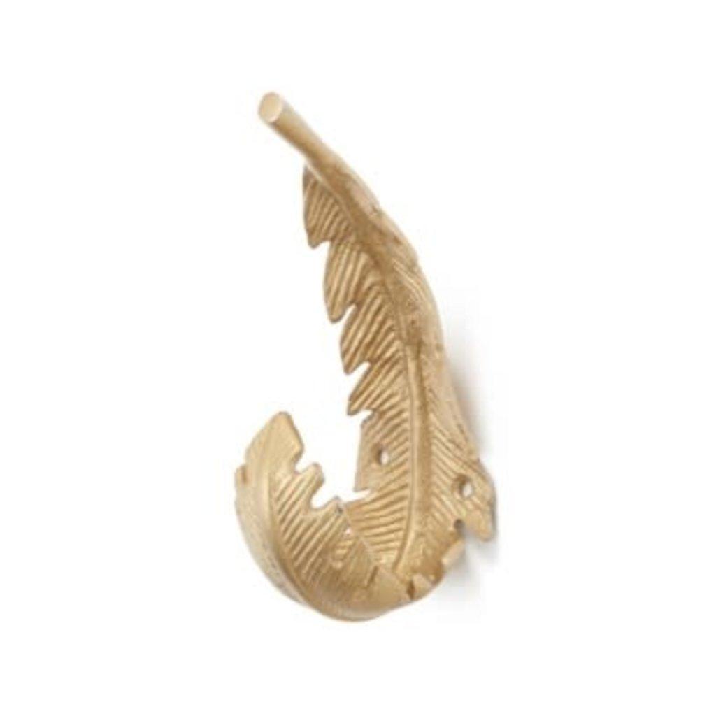 Brass Feather Hooks