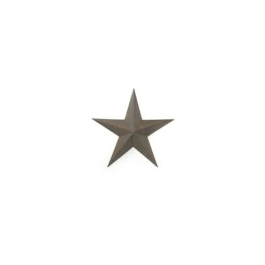 The Pine Centre Wall Decor - Brown Star Large